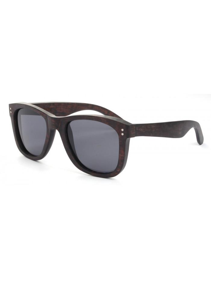 Drevené slnečné okuliare Elite Black Wood