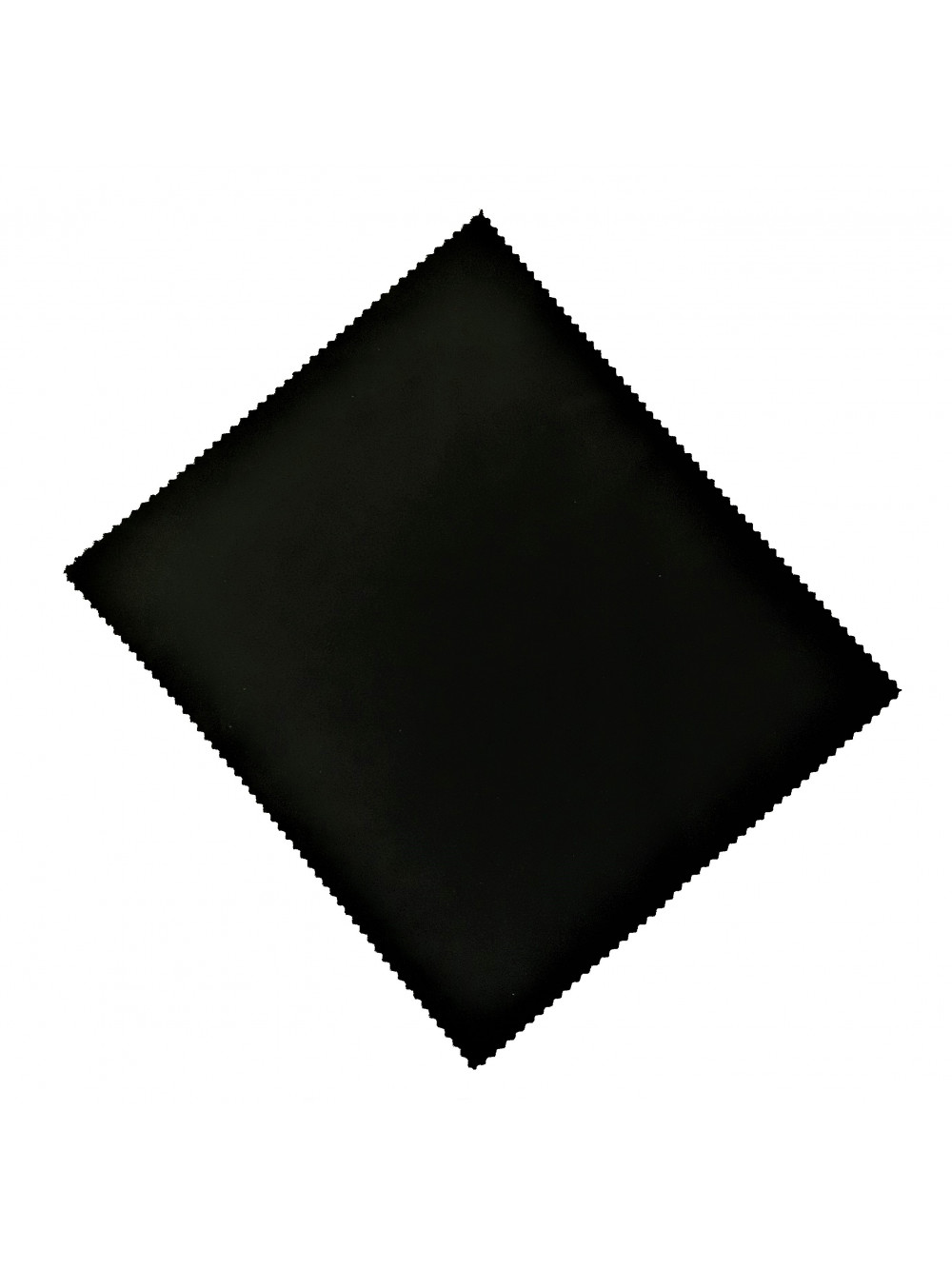 Textilná handrička na okuliare čierna