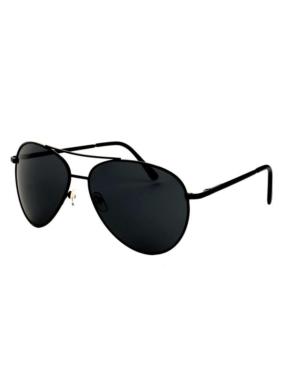 Slnečné okuliare Aviator Pilot Big Black 1c250a74e36