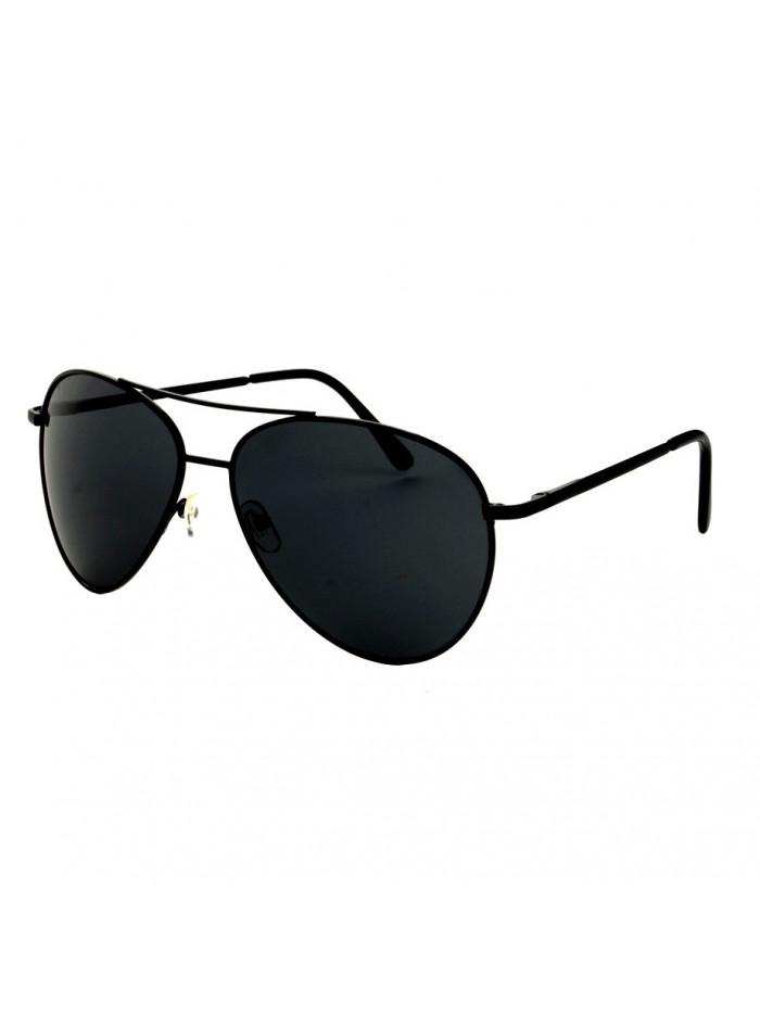 Slnečné okuliare Aviator Pilot Big Black