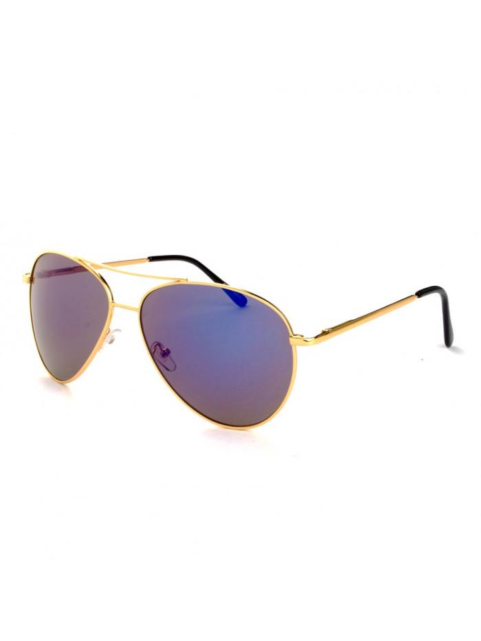 Slnečné okuliare Aviator Pilot Big Purple