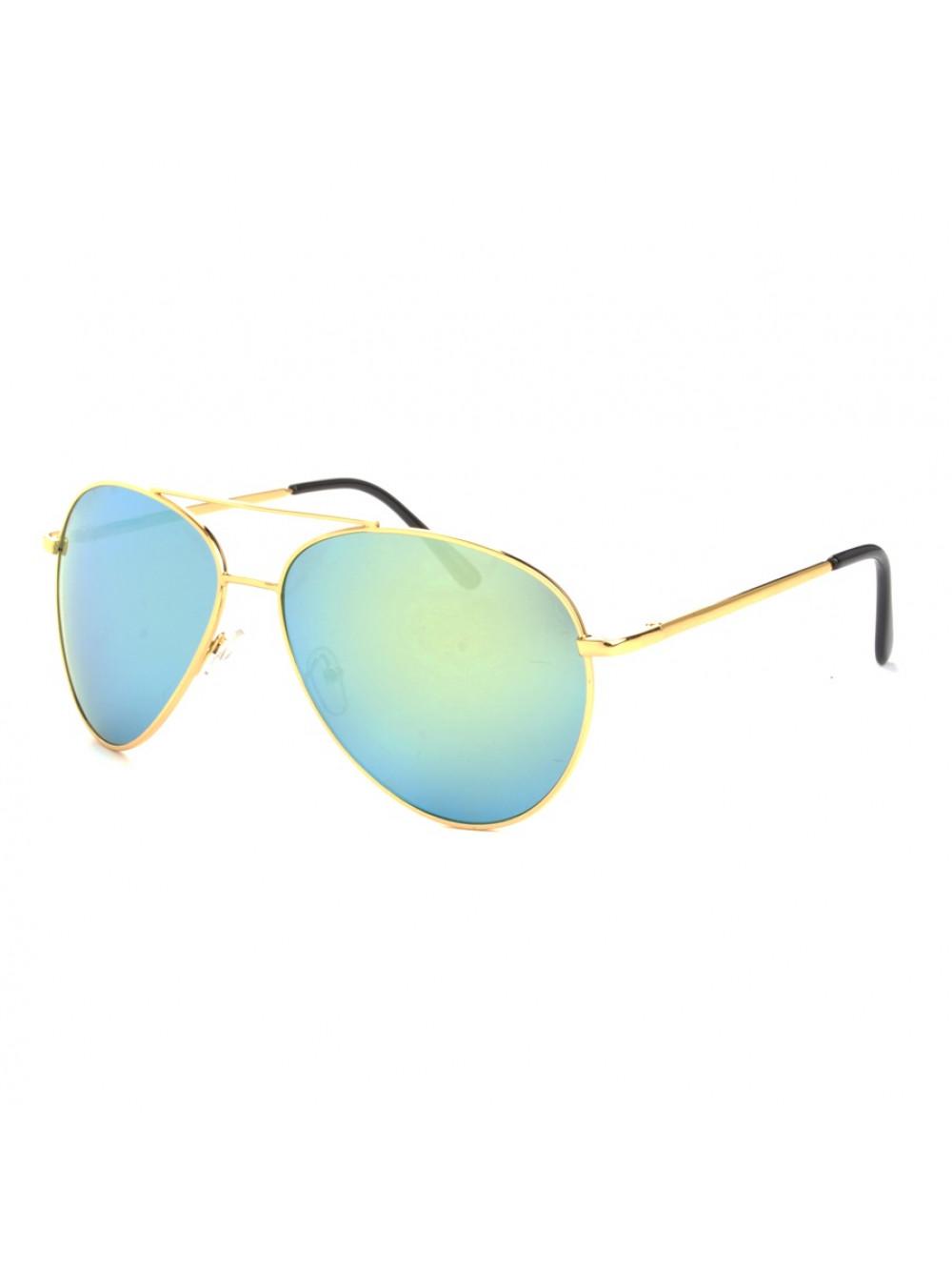 Slnečné okuliare Aviator Pilot Big Green
