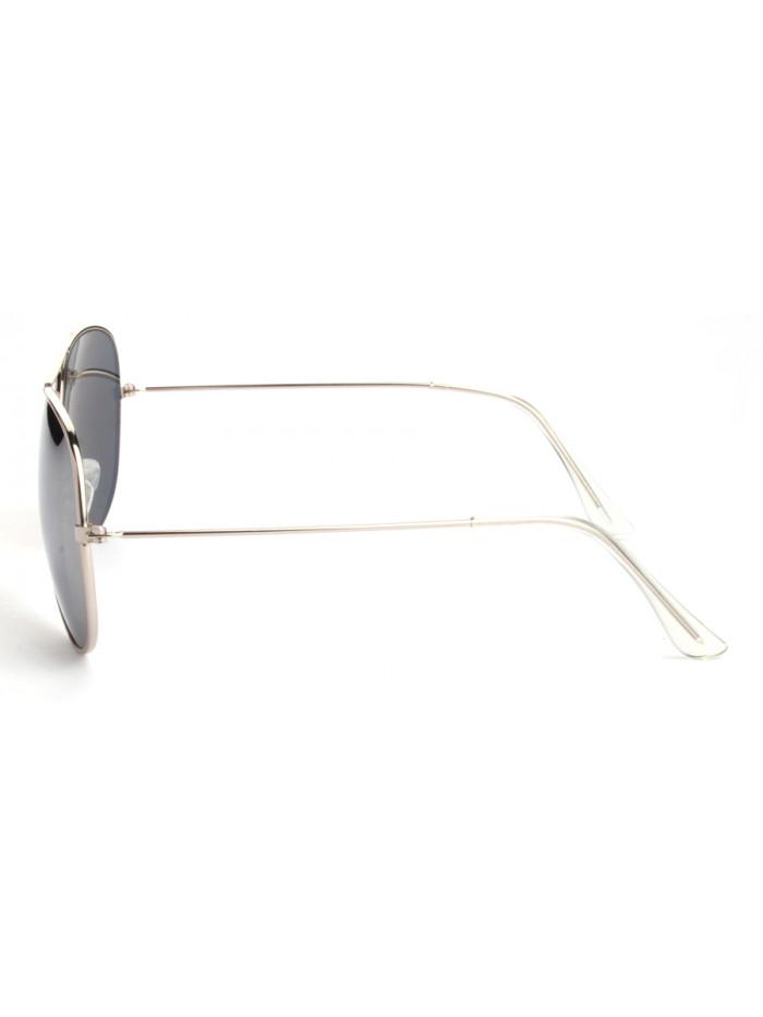 Slnečné okuliare Aviator Pilot Silver polarizačné
