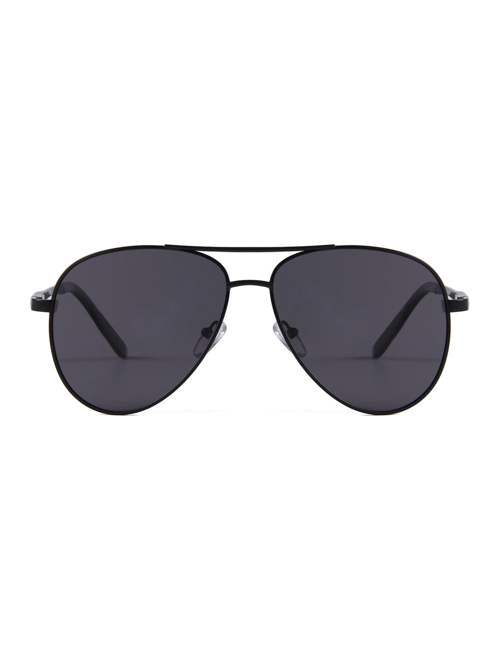Slnečné okuliare Aviator Premium Black polarizačné 7ef5cfcacfe