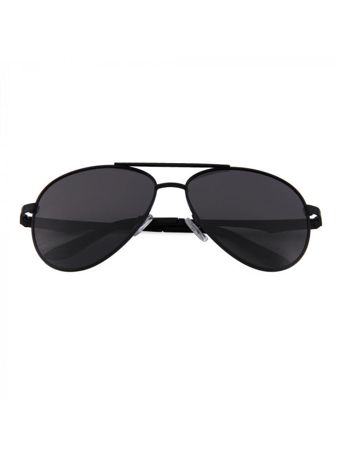 Slnečné okuliare Aviator Premium Black polarizačné