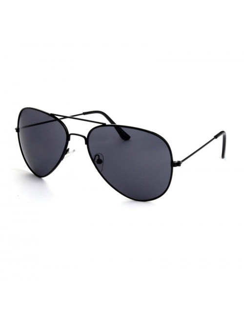 Slnečné okuliare Aviator Pilot Jet Black polarizač...