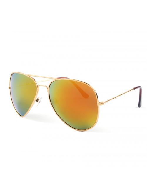 Slnečné okuliare Aviator Pilot Flame polarizačné