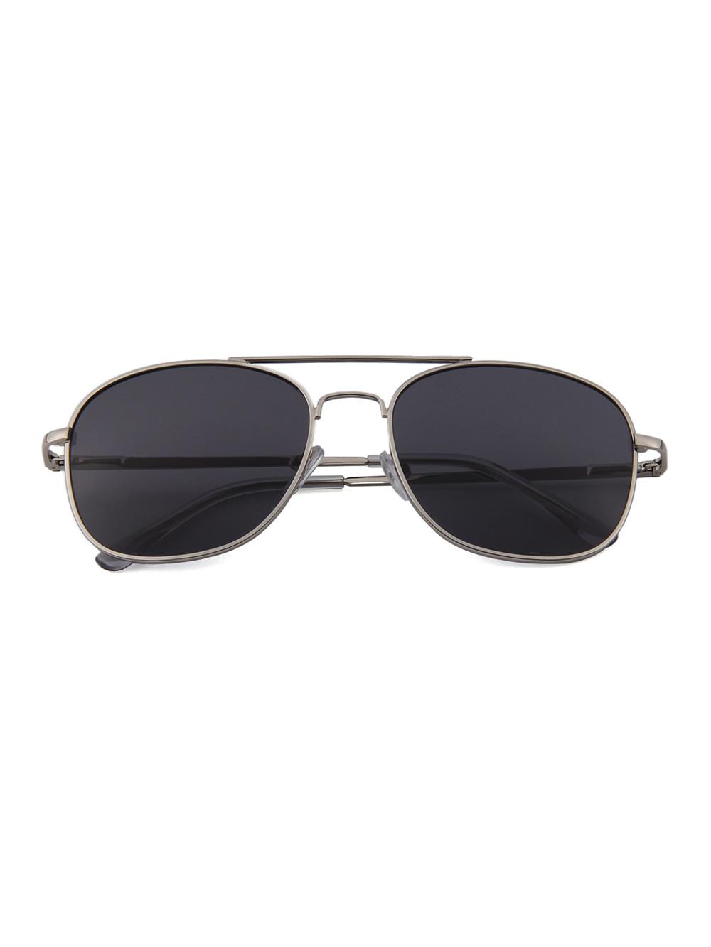 Slnečné okuliare Aviator Square Black 453c1048cac