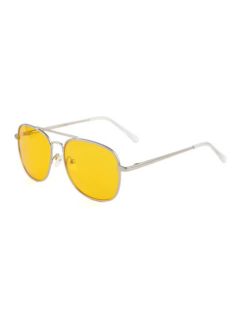Slnečné okuliare Aviator Square Yellow