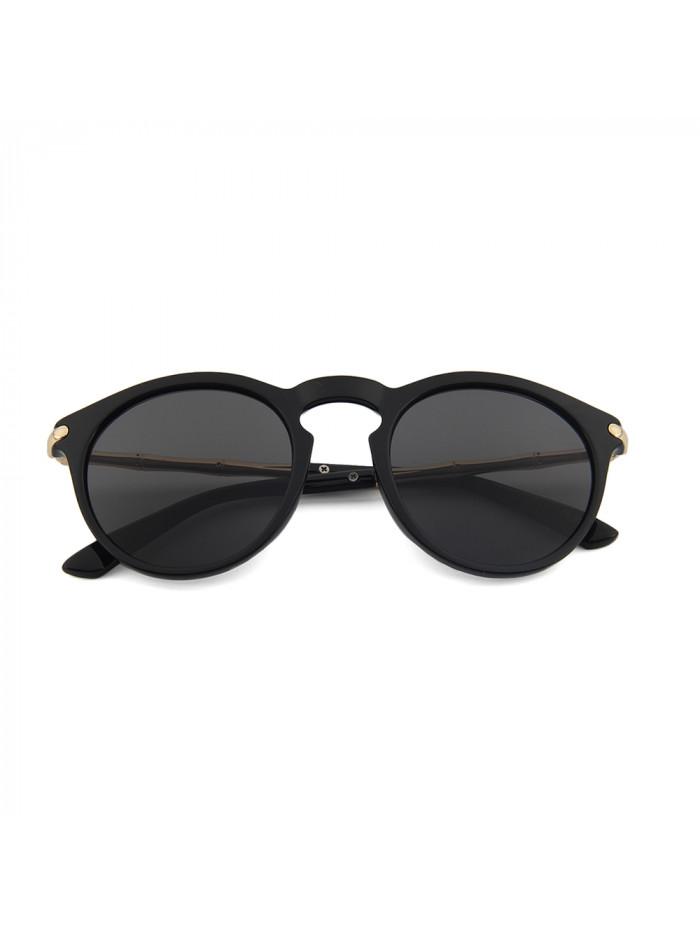Slnečné okuliare Keyhole Round Black