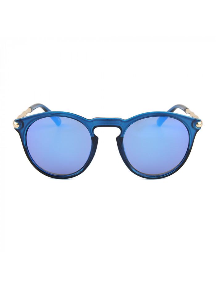 Slnečné okuliare Keyhole Round Blue