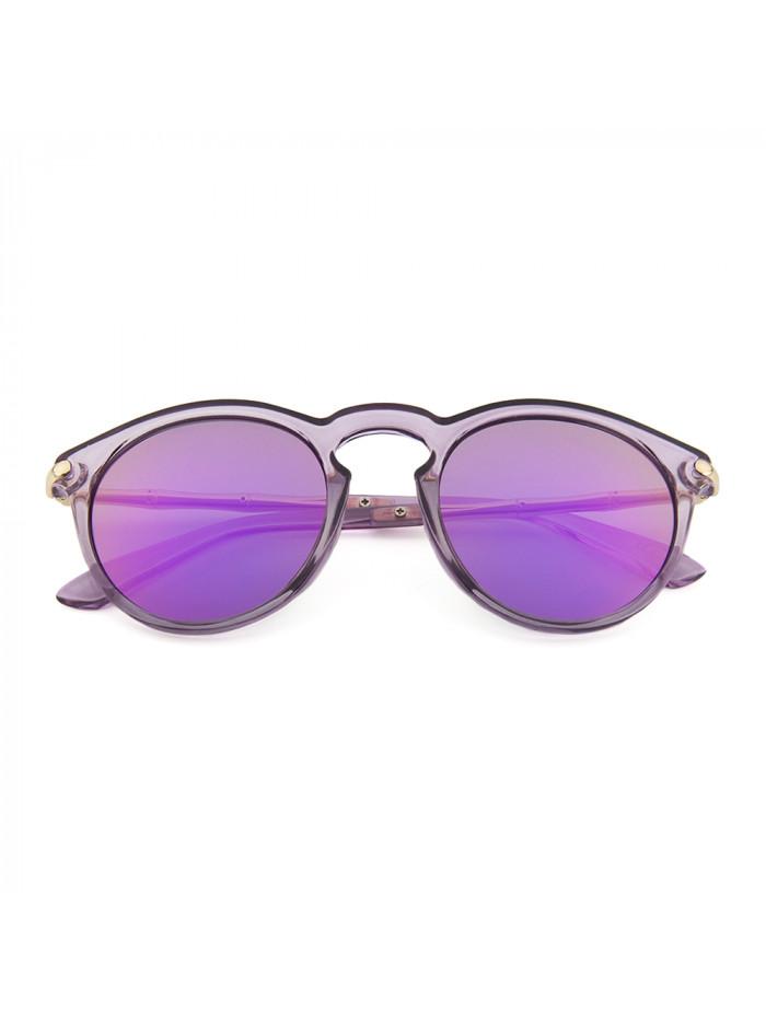 Slnečné okuliare Keyhole Round Purple