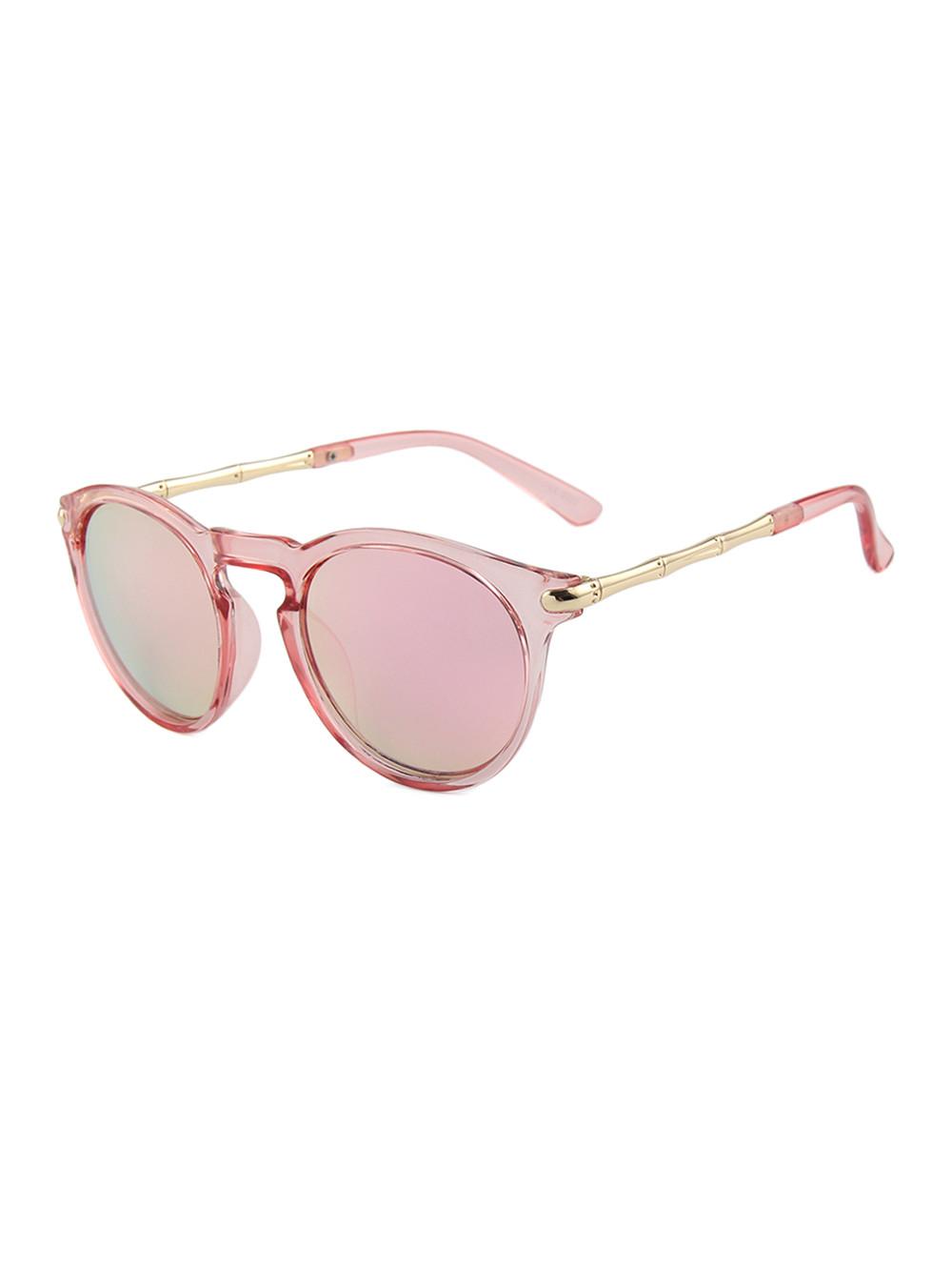 Slnečné okuliare Keyhole Round Pink