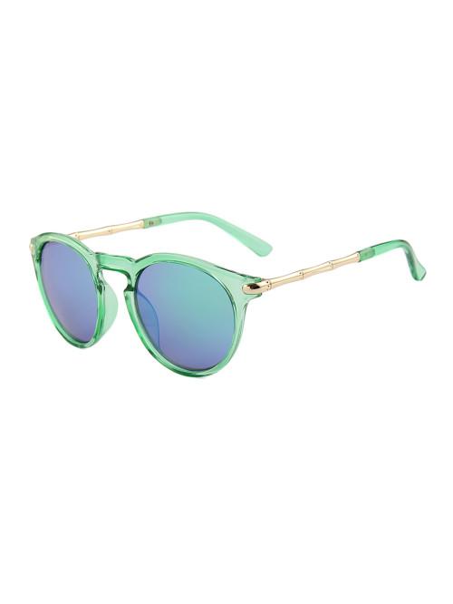 Slnečné okuliare Keyhole Round Green