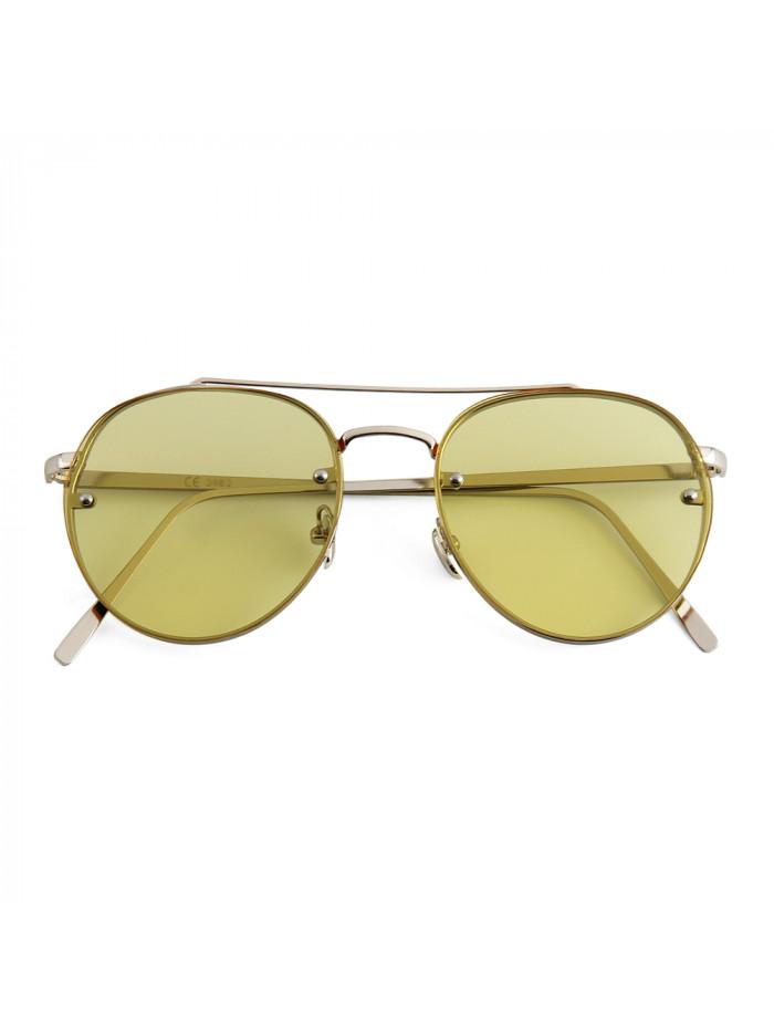 Slnečné okuliare Hipster Yellow
