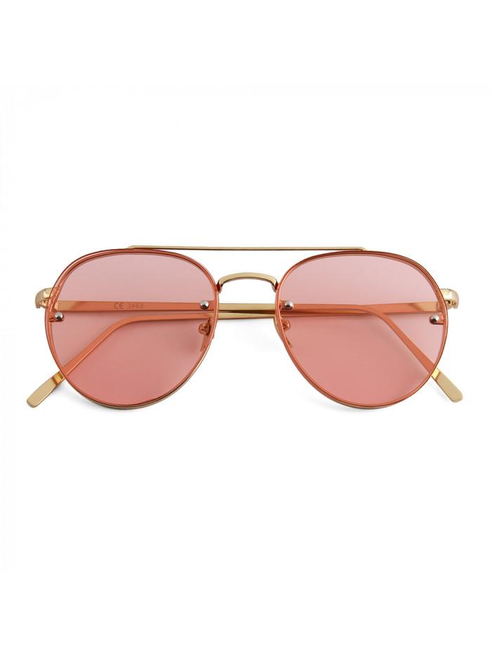 Slnečné okuliare Hipster Pink