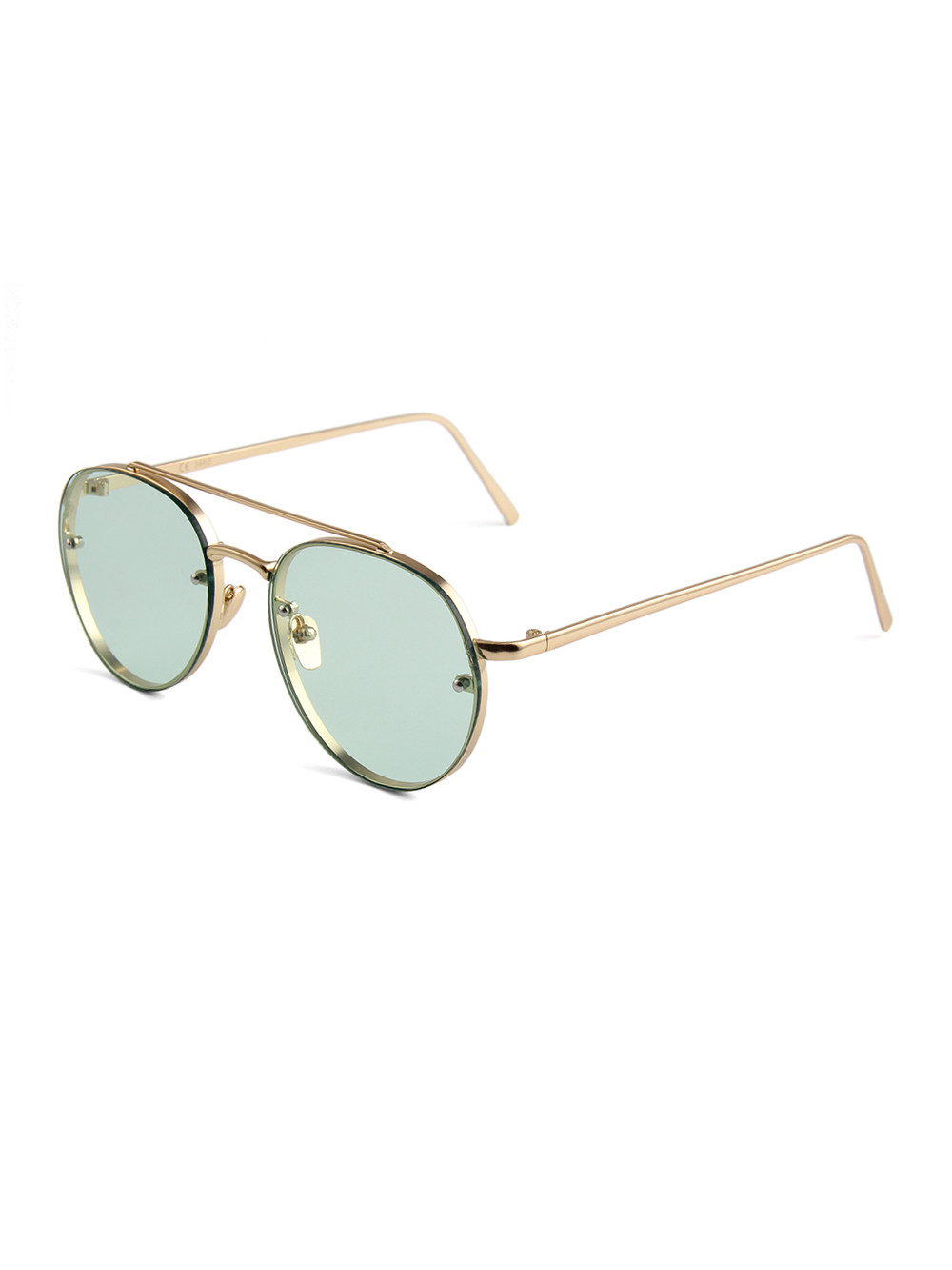 Slnečné okuliare Hipster Green