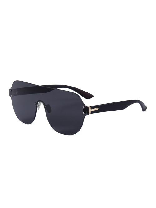 Slnečné okuliare Flat Shield Black