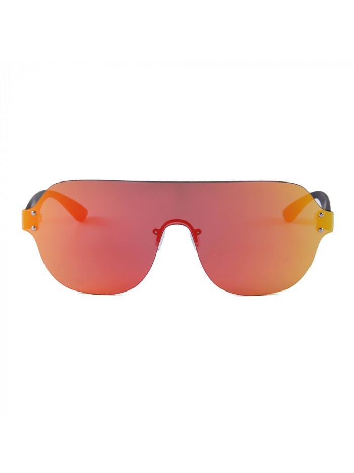 Slnečné okuliare Flat Shield Orange