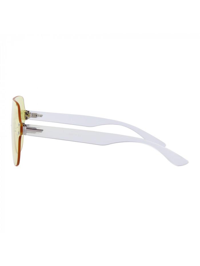 Slnečné okuliare Flat Shield Yellow