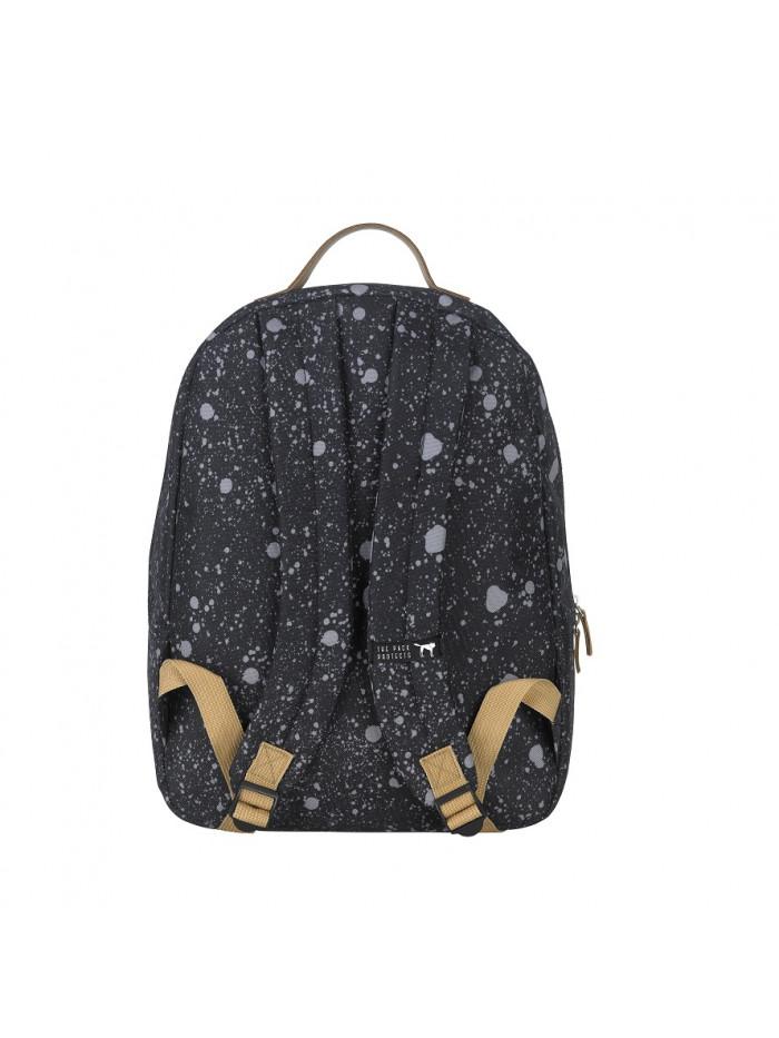 Čierny fľakatý batoh The Pack Society