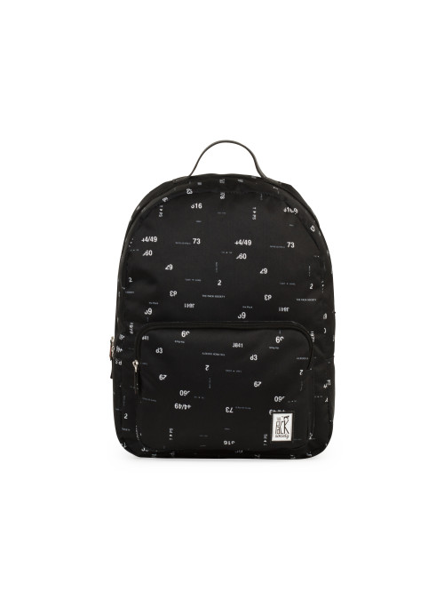 Batoh TPS Classic Backpack - Black Numbers All-over