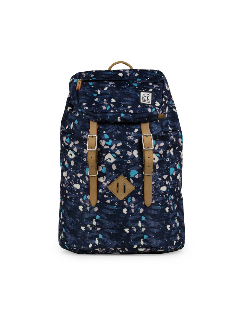 Ruksak TPS Premium Backpack Blue Speckles All-over
