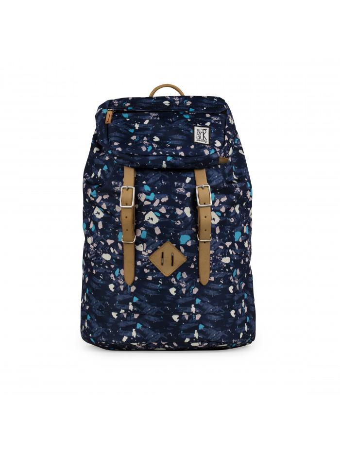 Ruksak TPS Premium Backpack Blue Speckles All-over