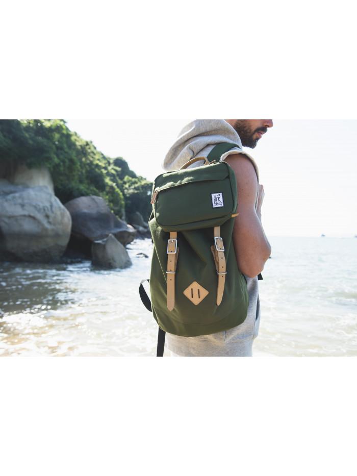 Ruksak TPS Premium Backpack Solid Forest Green