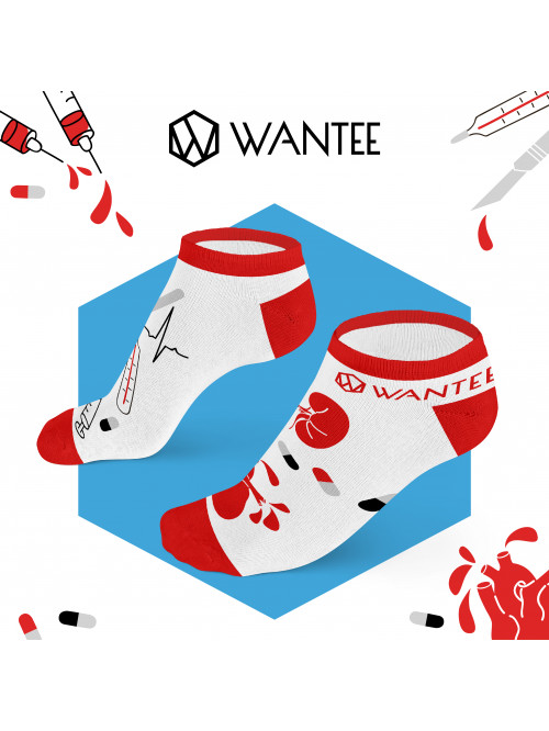 Členkové ponožky Medical X Wantee