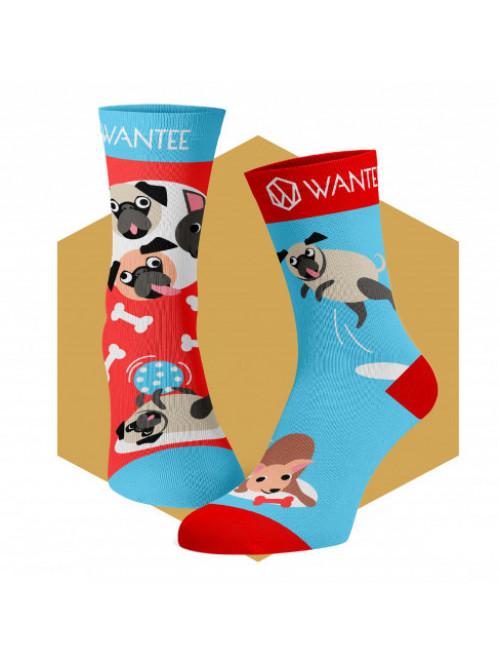 Detské ponožky Hravé Psíky Wantee