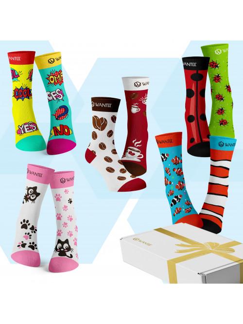 Ponožky Best Of Wantee 5-pack darčekový box
