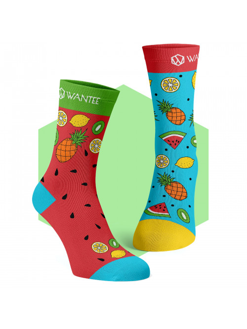 Ponožky Exotické ovocie Wantee