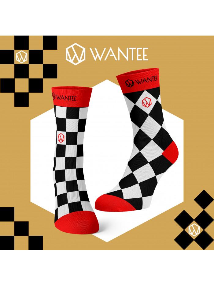 Ponožky Šachovnica Života Wantee