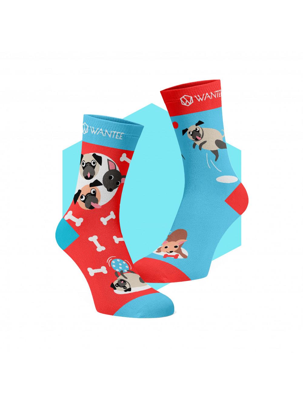 Ponožky Hravé Psíky Wantee