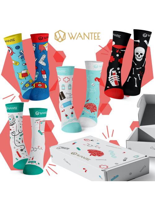 Ponožky Medical Wantee 4-pack darčekový box