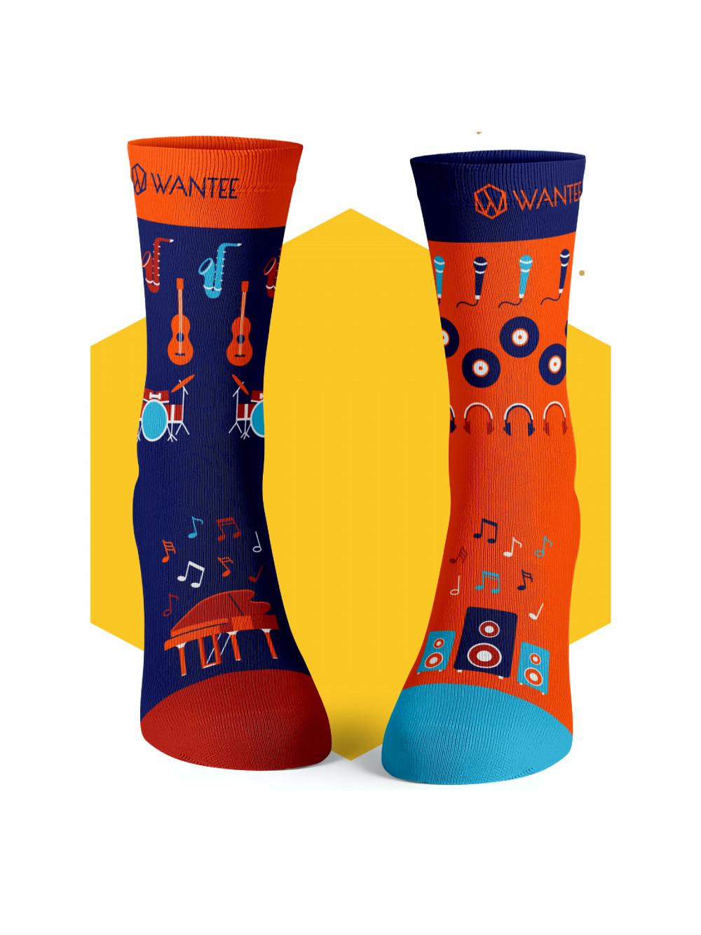 Ponožky Muzikant Wantee