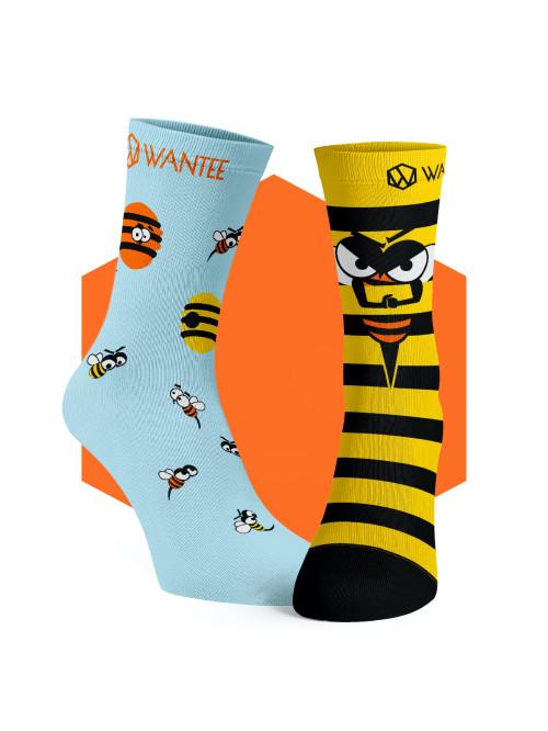 Ponožky Nahnevané Včely Wantee