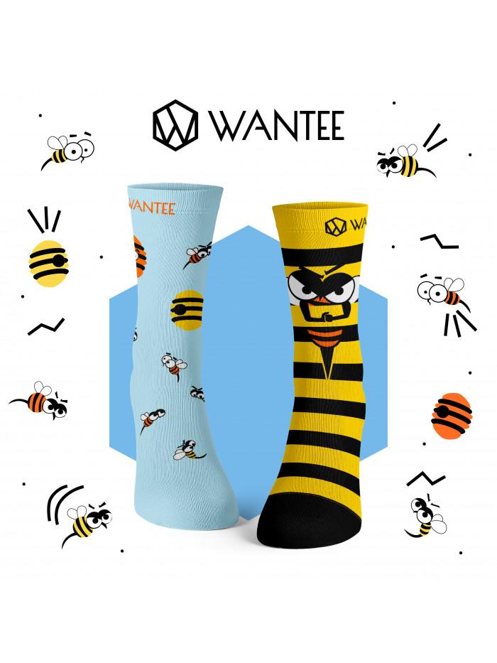 Ponožky Divoké Zvieratá Wantee 4-pack darčekový box