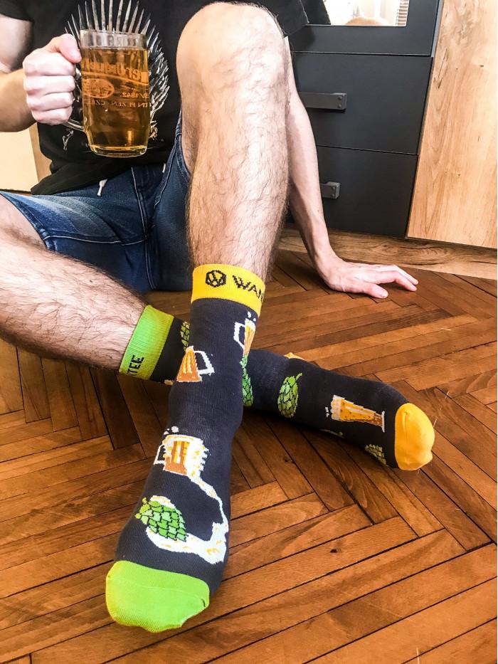 Ponožky Pivo Wantee