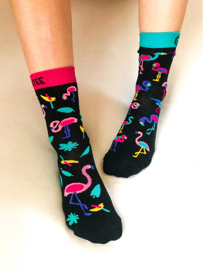 Ponožky Plameniaky Wantee