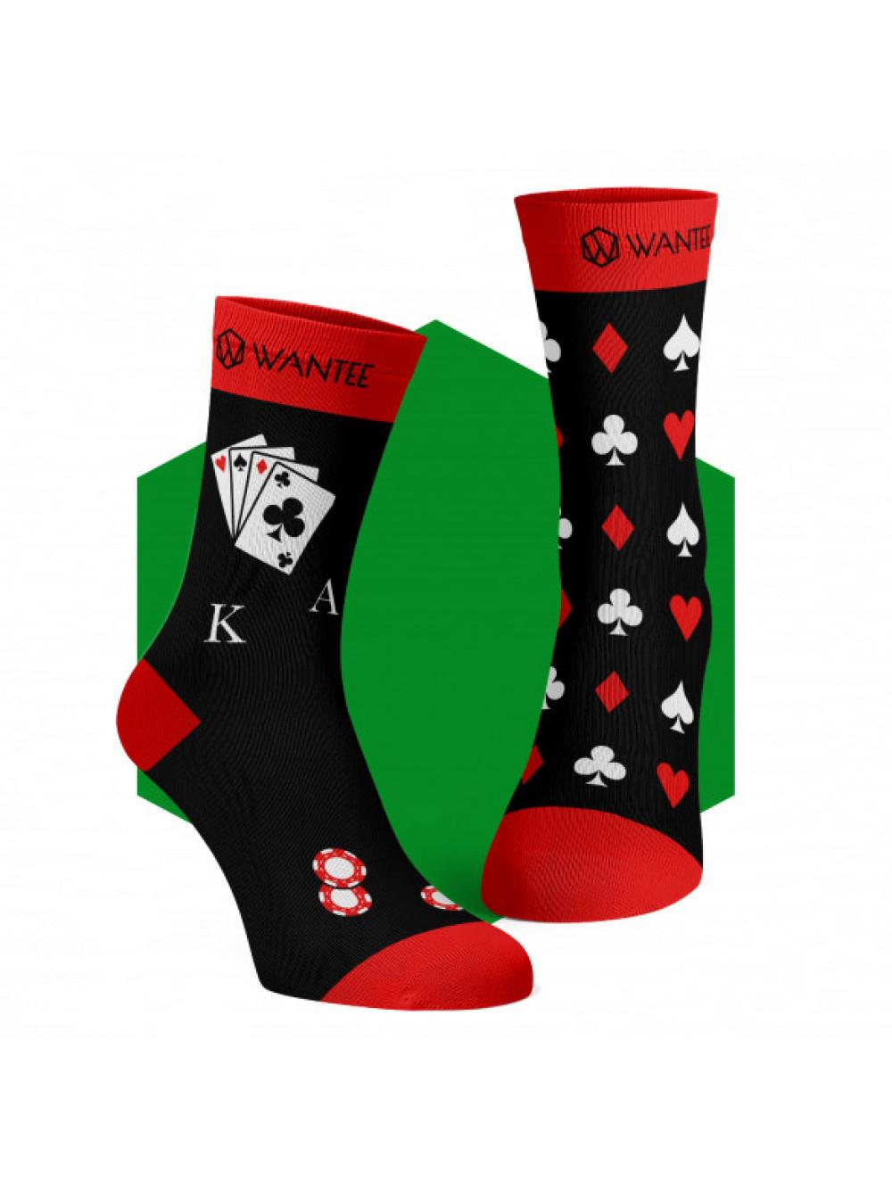 Ponožky Poker Wantee