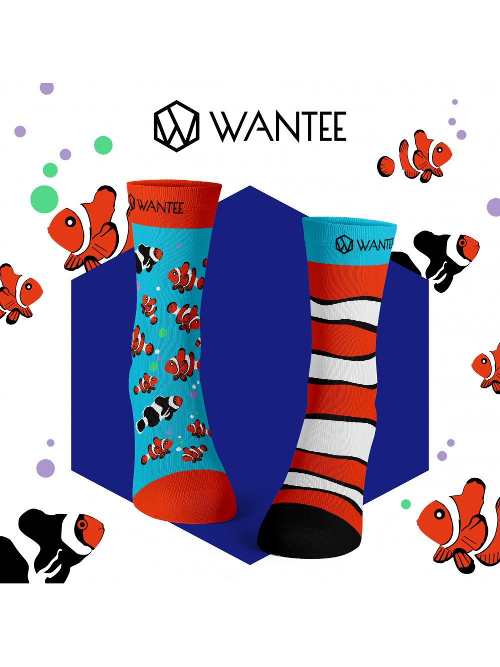 Ponožky Rybička Klaun Wantee