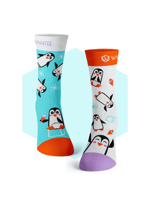 Ponožky Tučniaky Wantee