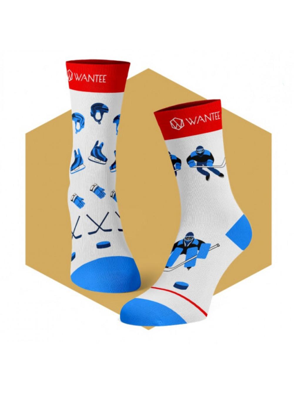 Ponožky Hokej Wantee