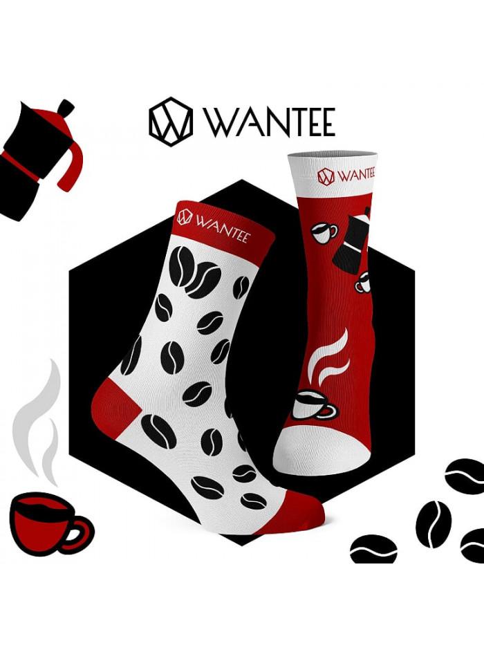 Ponožky Kávička Wantee