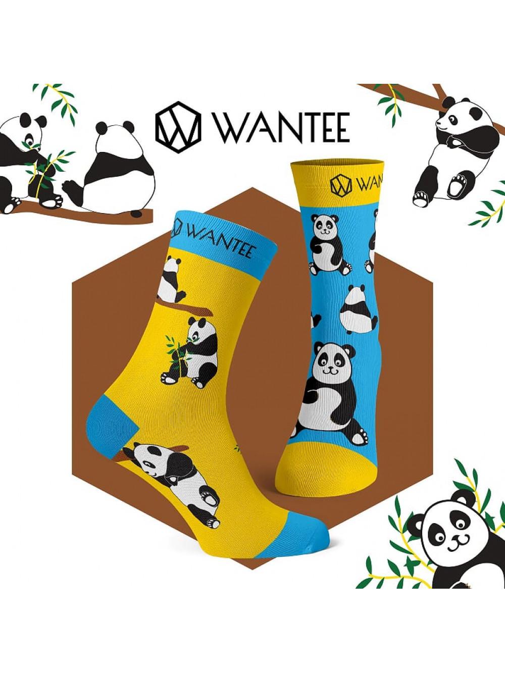 Ponožky Panda Wantee