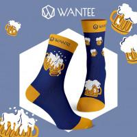 Ponožky Pivko Wantee